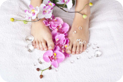 Pedicure French